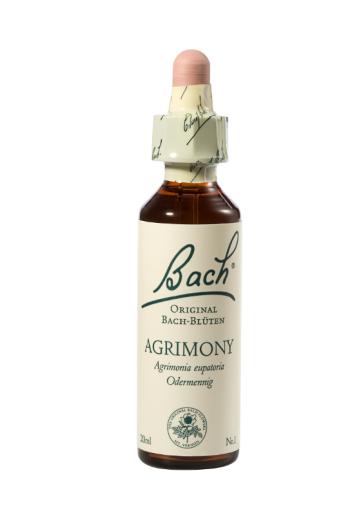 Bach Agrimony, kapljice št. 1 - navadni repik, 20 ml