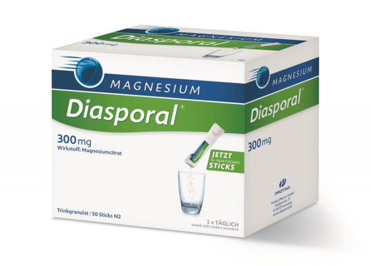 Magnesium Diasporal 300 mg, granulat za pripravo napitka, 50 vrečk