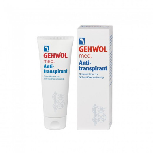 Gehwol Med, Antitranspirantni losjon, 125 ml