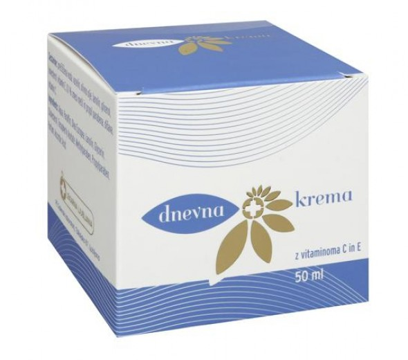 Dnevna krema z vitaminoma C in E, 50 ml