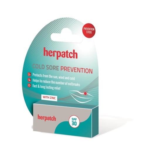 Herpatch Prevention, balzam za ustnice - ZF 30, 4,8 g