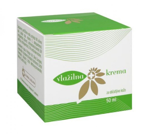 Vlažilna krema za občutljivo kožo, 50 ml