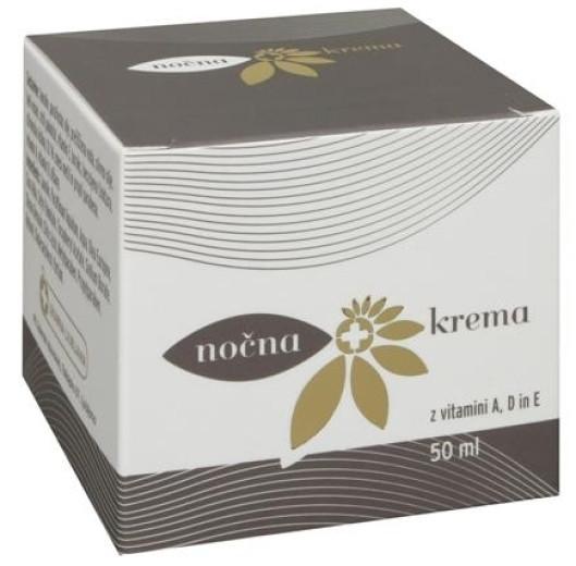Nočna krema, 50 ml