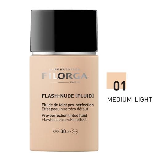 Filorga Flash-Nude (fluid) 01 Medium - Light, tekoči puder, 30 ml