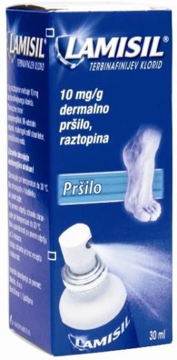 Lamisil 10 mg/g, dermalno pršilo, 30 ml