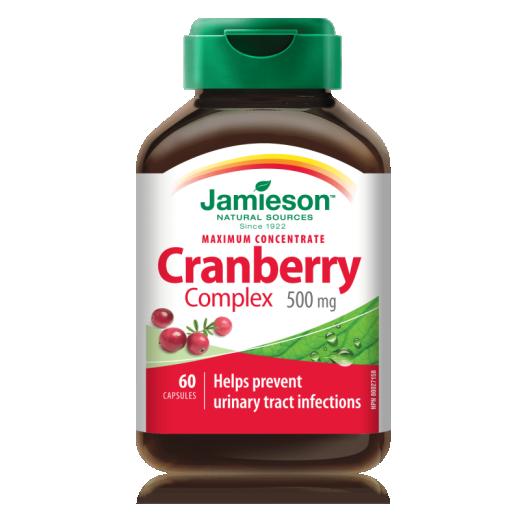 Jamieson Brusnica 500 mg, 60 kapsul