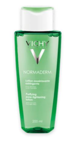 Vichy Normaderm, losjon za čiščenje in učvrstitev kože obraza, 200 ml