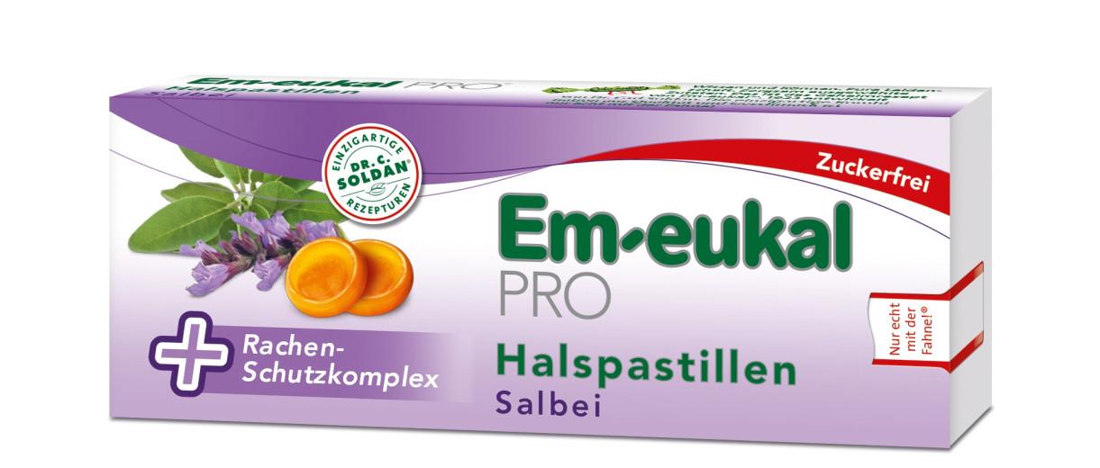 Em-eukal PRO, pastile za grlo - žajbelj, 30 pastil