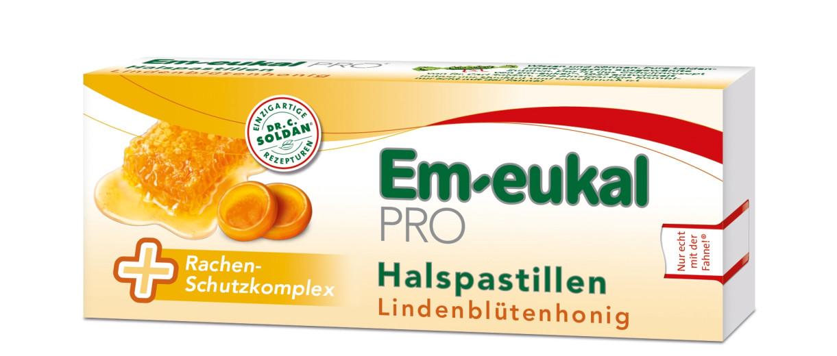 Em-eukal PRO, pastile za grlo - lipov med, 30 pastil
