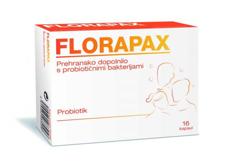 Florapax probiotik, 16 kapsul