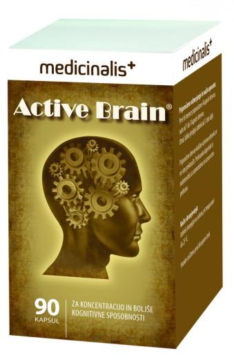 Medicinalis Active Brain, 90 kapsul