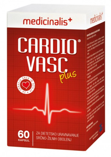 Medicinalis Cardiovasc plus, 60 kapsul