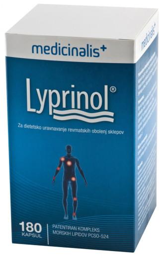 Medicinalis Lyprinol, 180 kapsul