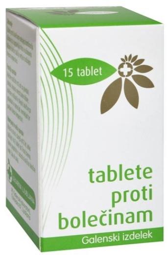 Tablete proti bolečinam, 15 tablet