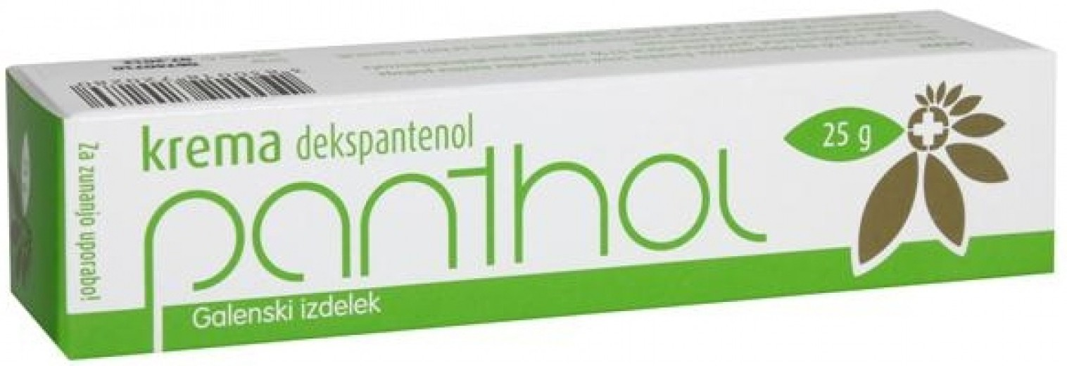 Panthol krema, 25 g