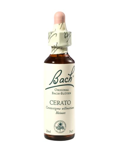 Bach Cerato, kapljice št. 5 - rožič, 20 ml