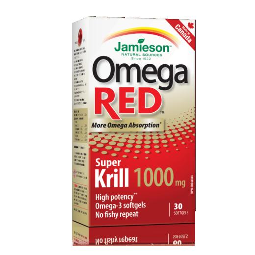 Jamieson Omega Red Super Krill, 30 kapsul