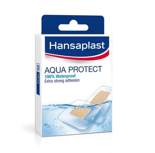 Hansaplast Aqua Protect, vodoodporni obliži, 20 obližev