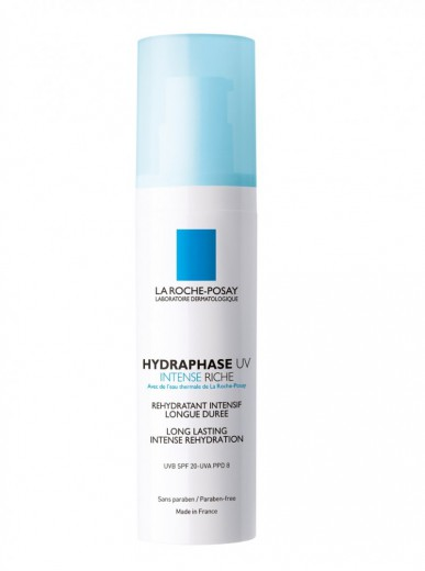 La Roche-Posay Hydraphase UV Intense, bogata vlažilna krema, 50 ml