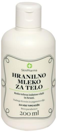 SkinPharma, hranilno mleko za telo, 200 ml