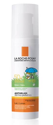 La Roche-Posay Anthelios, mleko za obraz in telo dojenčkov - ZF 50+, 50 ml