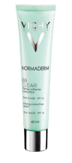 Vichy Normaderm, BB Clear krema - Light, ZF16, 40 ml