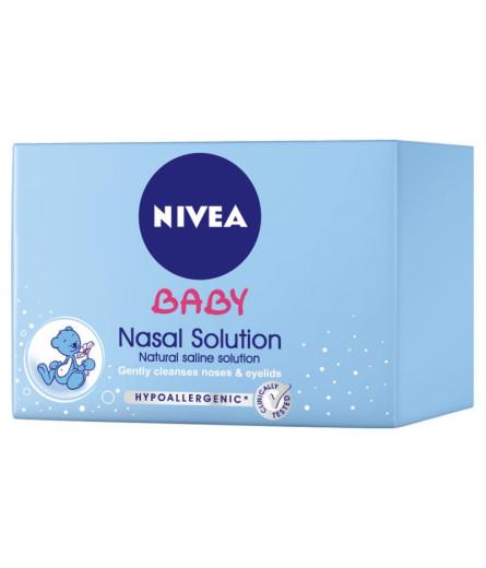 Nivea Baby, raztopina za čiščenje nosu, 24x5 ml