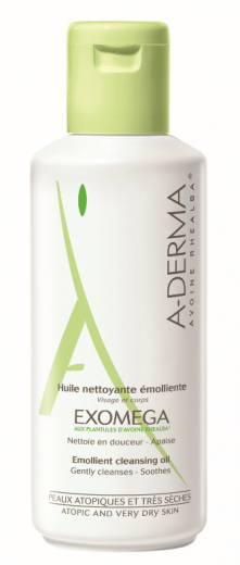 A-Derma Exomega oljni gel, 200 ml
