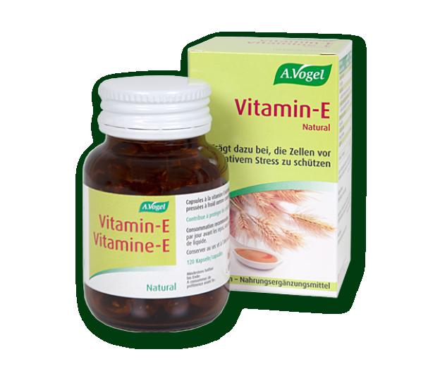 A. Vogel Vitamin E, 120 kapsul