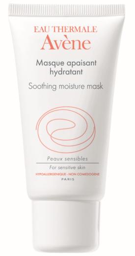 Avene Pomirjevalna vlažilna maska, 50 ml