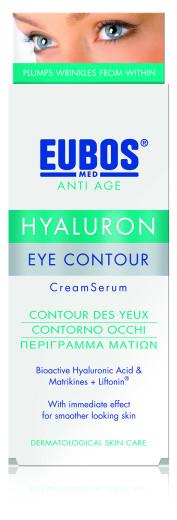 Eubos Med Anti Age Hyaluron serum za predel okoli oči, 15 ml