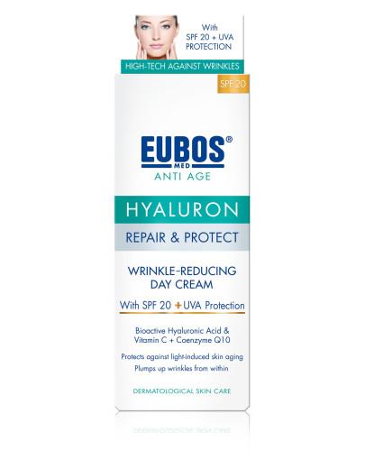 Eubos Med Anti Age Hyaluron Repair&Protect dnevna krema - ZF20, 50 ml