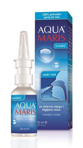 Aqua Maris Classic, pršilo za nos, 30 ml