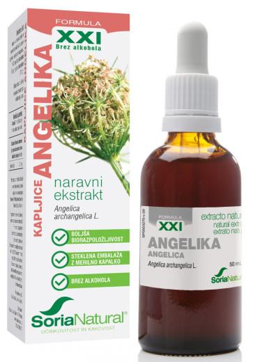 Soria Natural, Angelika XXI kapljice, 50 ml