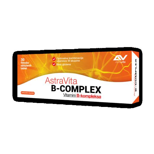 AstraVita B-complex, 30 tablet