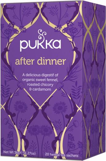 Pukka After Dinner, ekološki čaj, 20 vrečk