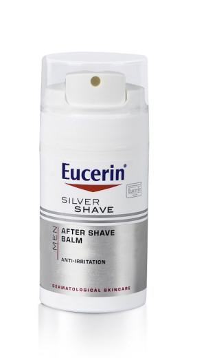 Eucerin Men Silver Shave, balzam za po britju, 75 ml