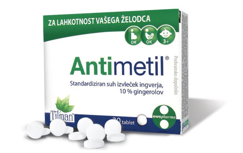 Antimetil, 30 obloženih tablet