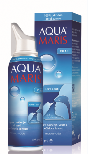 Aqua Maris Clean, pršilo za nos, 125 ml