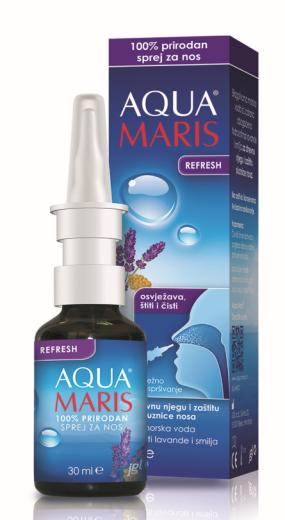 Aqua Maris Refresh, pršilo za nos, 30 ml