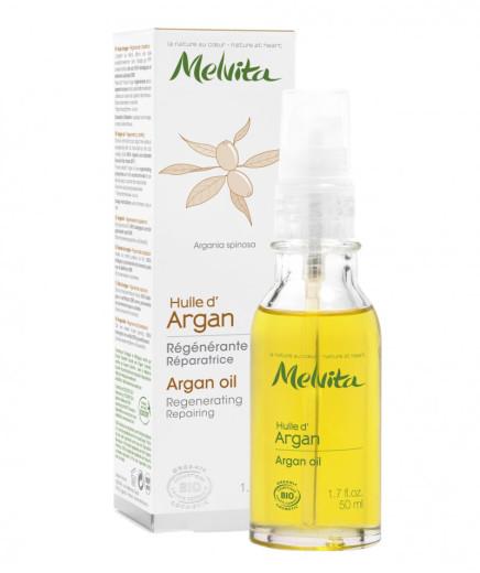Melvita Arganovo olje za obraz in telo, 50 ml