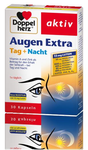 Doppelherz Aktiv Augen Extra dan + noč, 30 kapsul