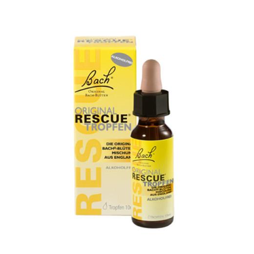 Bach Rescue, kapljice brez alkohola, 10 ml