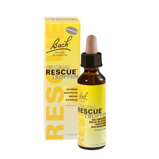 Bach Rescue, kapljice brez alkohola, 20 ml