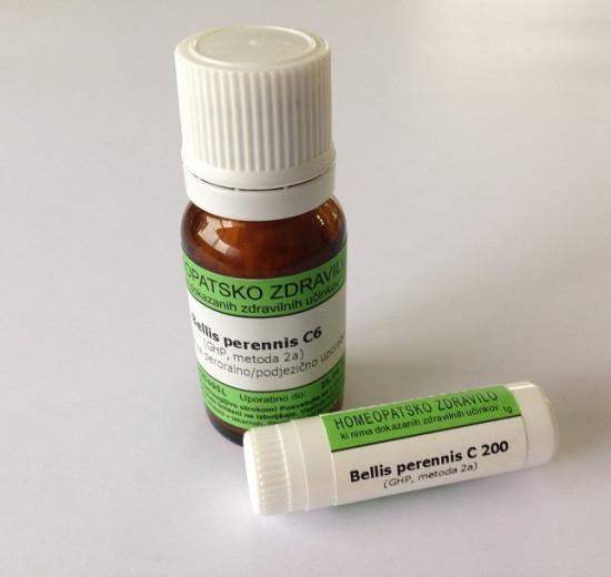 Bellis perennis, kroglice za peroralno/podjezično uporabo - C12, 10 g