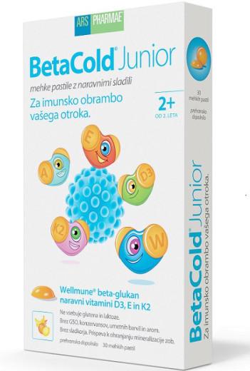 BetaCold Junior, 30 mehkih pastil