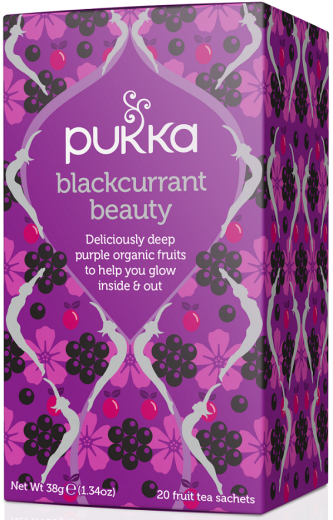 Pukka Blackcurrant Beauty, ekološki čaj, 20 vrečk