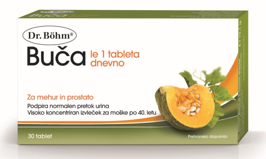 Dr. Böhm, Buča za moške, 30 tablet
