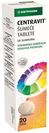 DietPharm Centravit, 20 šumečih tablet
