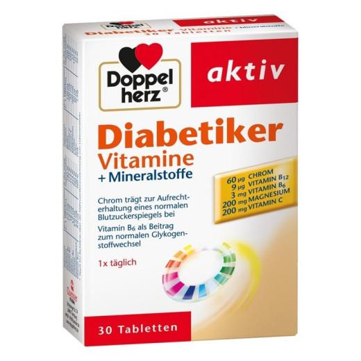 Doppelherz Aktiv Diabetiker, 30 tablet